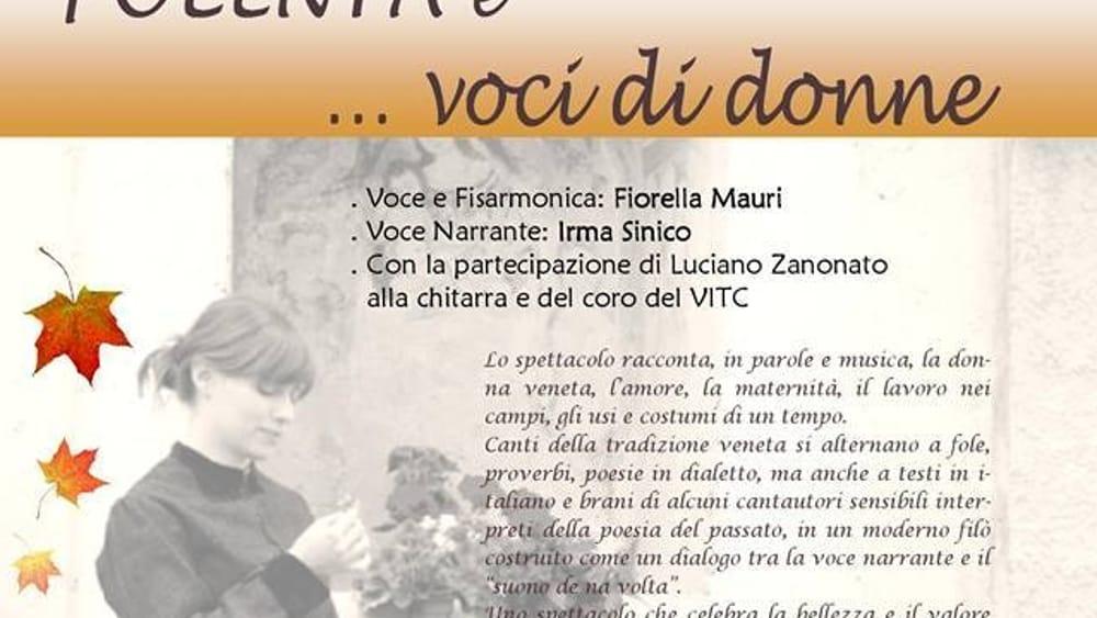 """Favori La Polenta: Voci di Donne in Contrà"""" a Posina Eventi a Vicenza CZ24"""