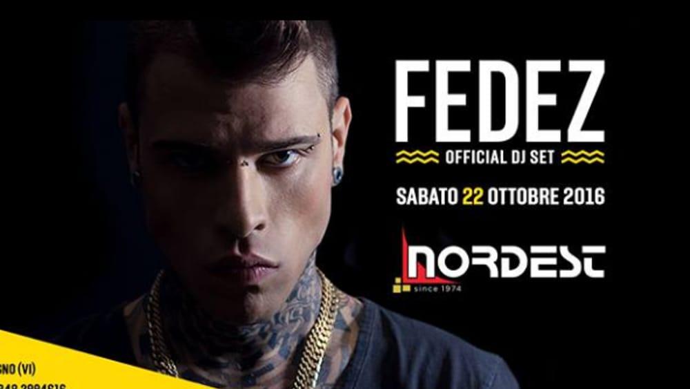 """Fedez special guest al """"Nordest"""" di Caldogno Eventi a Vicenza"""