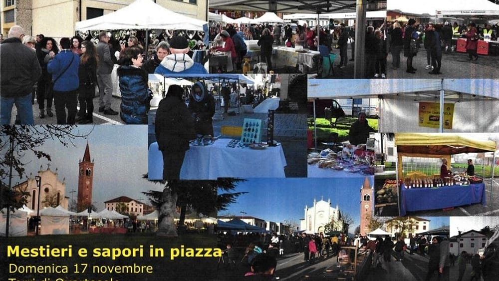 Mestieri e Sapori in Piazza a Torri di Quartesolo - VicenzaToday