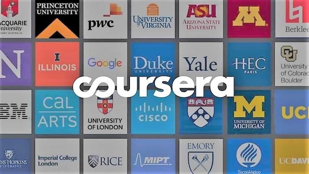 Coursera online course platform