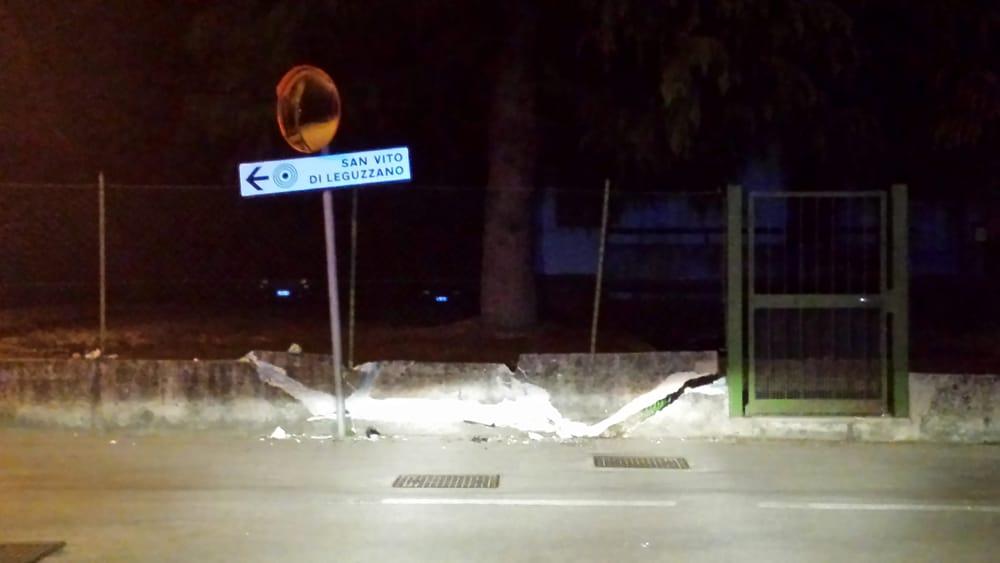 San Vito di Leguzzano, ubriaco abbatte il muro di una casa: alcol 2 ... - VicenzaToday