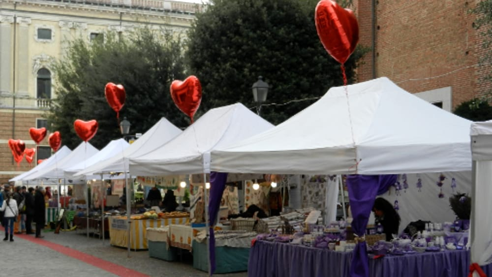 Circo delle pulci san valentino vintage e artigianato for Mercatino antiquariato vicenza