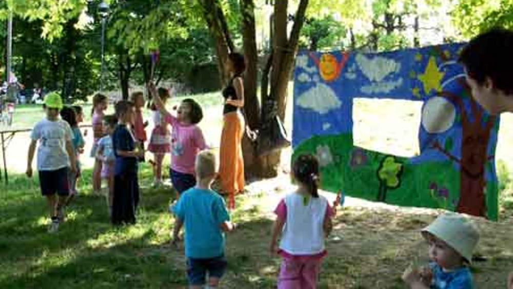 Laboratori e giochi per bambini e ragazzi alla for Cortile giochi per bambini