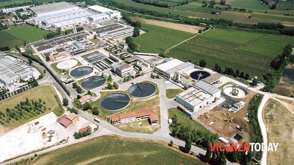 Valle del chiampo 6 milioni di euro per la sicurezza for Depuratore laghetto